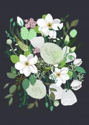 flower floral garden blossom illustration