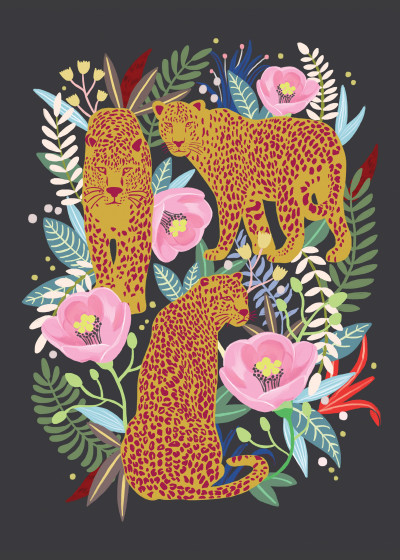 hyun lee Secret Flower Garden   Displate Prints on Steel