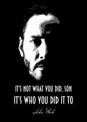 john wick johnwick johnwick2 movies assansin killer stealth fighter beegeedoubleyou black grey white quote quotes sayings saying