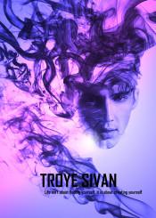 troye sivan music pop quote life purple smoke mellet