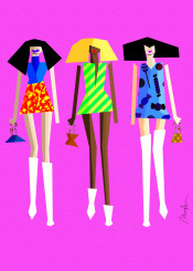 ladies nightlife fashion minimal chic streetstyle model fashionart shoes catwalk colorful colorhunter colorpop popart monicaahanonu melanin blackgirlmagic girlboss