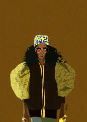 melanin fashion chic