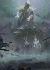 dark fantasy game warriors souls