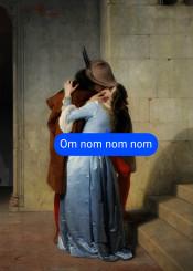 romance kiss omnomnom francescohayez kissme