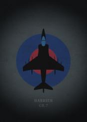 harrier gr7 raf fighter jet jetfigter airplane plane combat war world air force