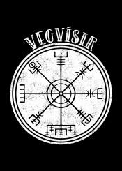vegvisir protection iceland icelandic compas runes runic viking vikings stave trident protective