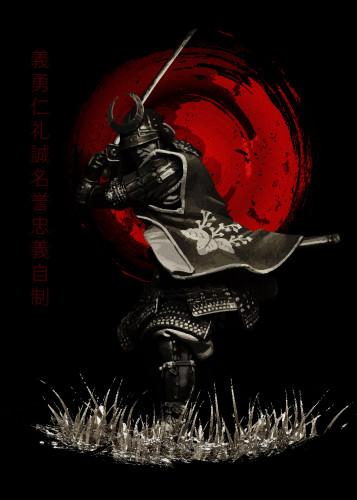 Bushido Samurai Attack...M Images Fine Art Photography