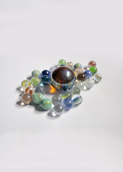 marbles collection colourful bright