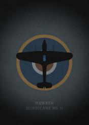 hawker hurricane fighter world war air force royal airplane
