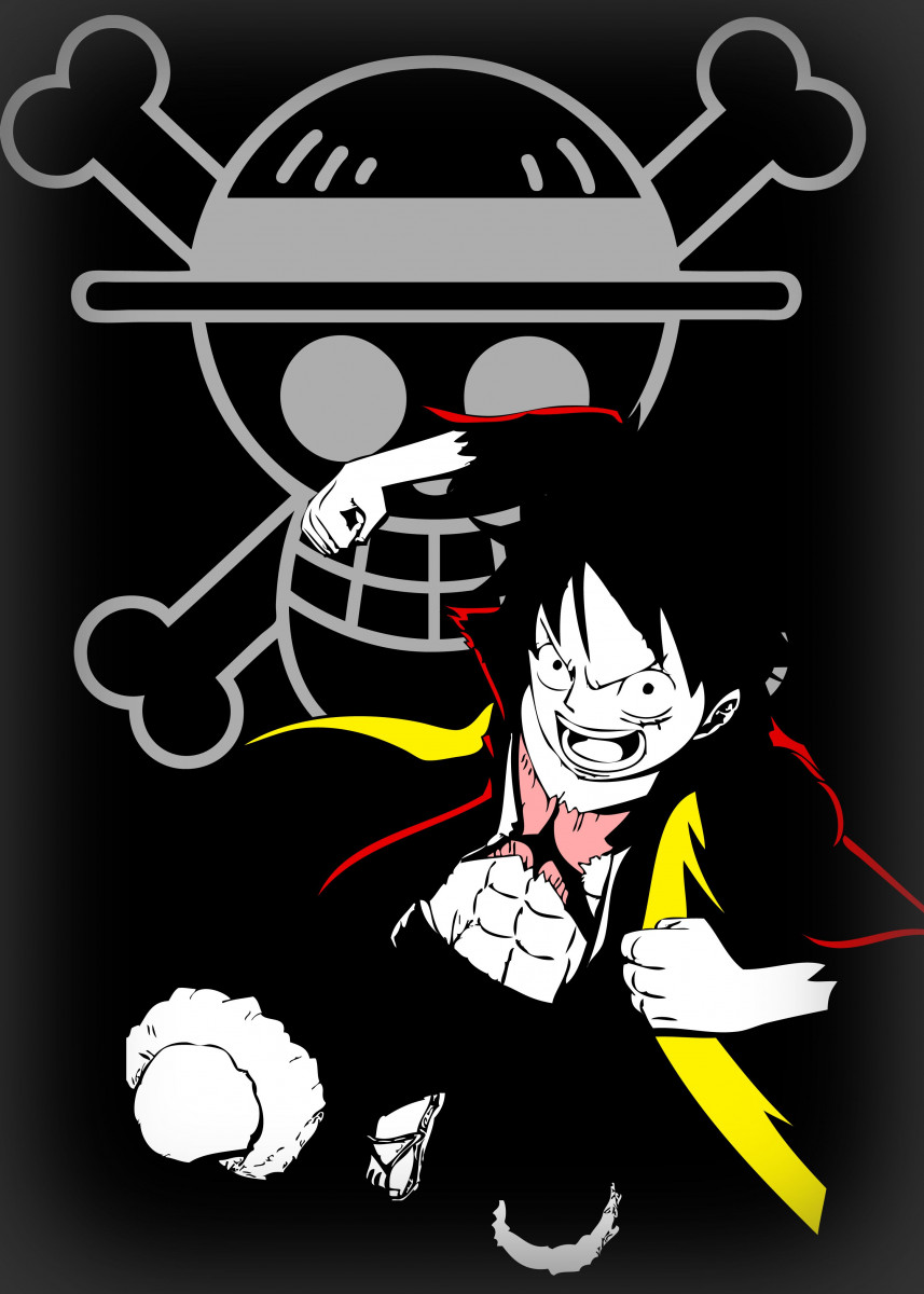 Monkey D. Ruffy/Luffy from the Anime One Piece 322659