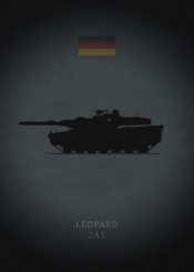 leopard tank mbt 2a5 weapon main battle tanks world army dark black