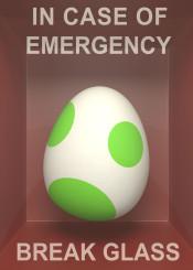 egg yoshi mario fanart geek videogames games gamer emergency nintendo popart glass humor