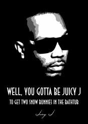 juicyj hiphop juicy j urban rnb beegeedoubleyou black grey white quote quotes saying sayings