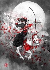 horse rider yabusame