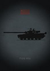type 99a tank armor weapon war soldier china dark black