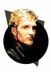 layne staley alice chains portrait blonde rock grunge