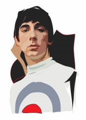 keith moon who pop 60s mod music drum drummer