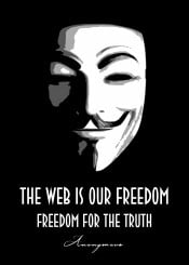 anonymous hacker hack pc society web internet surf freedom truth quote quotes saying sayings beegeedoubleyou black grey white mask