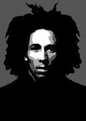 bob marley bobmarley jamaica good vibes love music reggae beegeedoubleyou black grey white quote quotes saying sayings