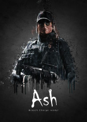 rainbow six siege ash