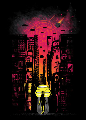 The Fifth Element by PopCulArt   metal posters - Displate