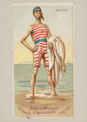 sea,man,portrait,caricature,fineart,vintage