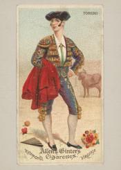 torero,spanish,bull,vintage,dude,fineart