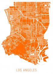 city map maps la