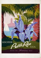 poster,travel,travelposter,puertorico,usa
