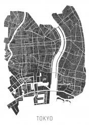 city map maps tokyo