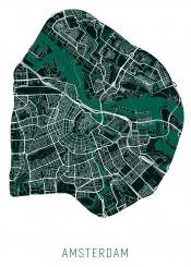 city map maps amsterdam