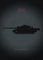 challenger tank panzer armor weapon war dark black uk england great britain