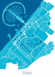 city map maps dubai