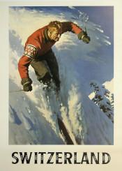 vintage,poster,switzerland,skiing,travelposter,travel