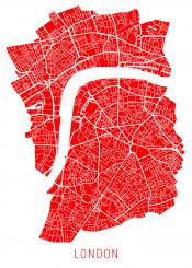 city map maps london