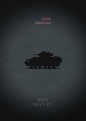 m2a3 bradley ifv infantry fighting vehicle tank armor weapon panzer war dark black