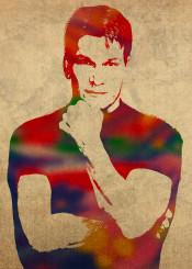 patrick swayze patrickswayze dirtydancing watercolor portrait