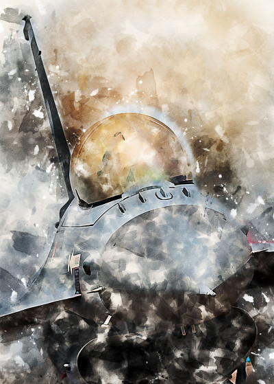 Airpower Art Painted Aircraft   Displate Prints on Steel