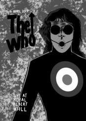 thewho who music rock roll progressive legends grayscale mrjackpots