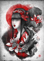 mizu koi lotus