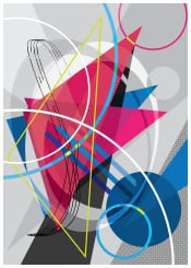 abstract abstra abstractysm arte digital ilustration illustrator colours geometric