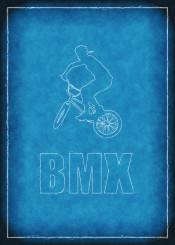 bmx blueprint bicycle
