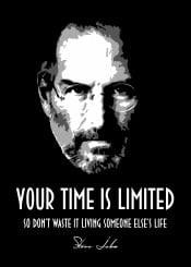 steve jobs nerd geek time limited quotes quote beegeedoubleyou black stevejobs