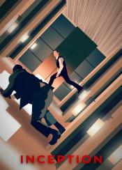 inception dom cobb dreams arthur hallway scene hallwayscene fight spinning