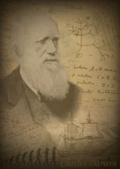 charles darwin theory evolution human humans greatest minds mind genius inventions inventors scientist scientists traveller expert technician lab researcher posters displate science revolution united states