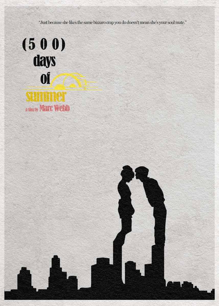 500 Days of Summer Minimalist Movie Poster 349686