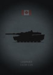 leopard 2a4m can canadian tank armor panzer weapon war gun black dark