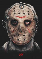 jason horror movie film halloween fridaythe13th friday campcrystal voorhees hockey mask death blood killer evil macabre eye murder dark hell