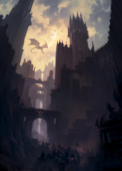 Andreas Rocha Fantasy   Displate Prints on Steel