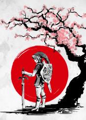 zelda link japan nature legend